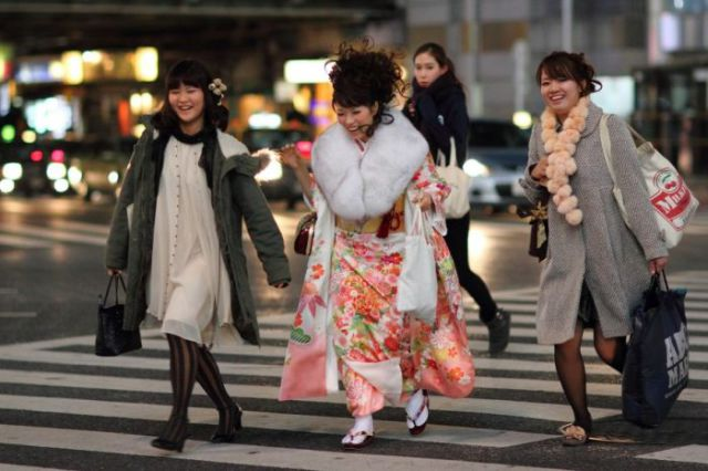 Girls on the Streets of Japan