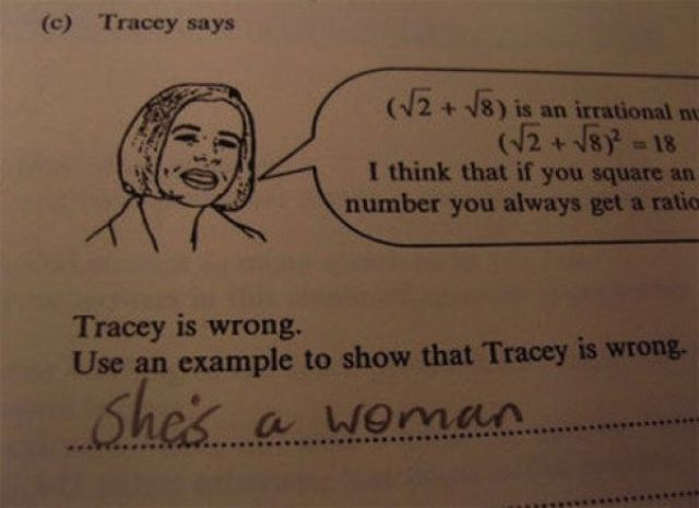 Test Answers You Will Wish You Had Thought Of First