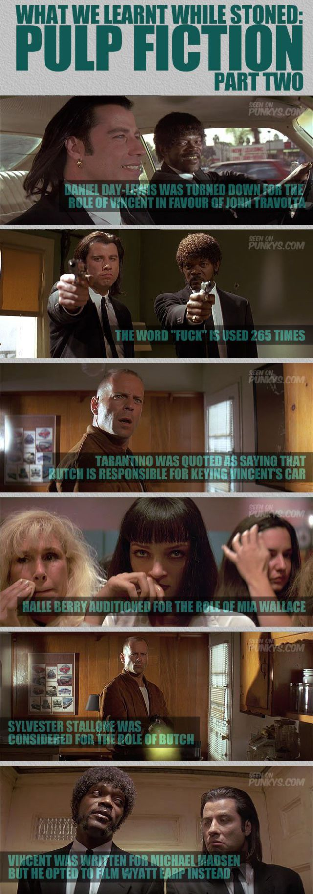 A Few Facts You Probably Didn't Know About Pulp Fiction