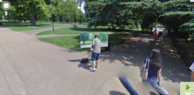 Amusing Things Caught on Google Street View