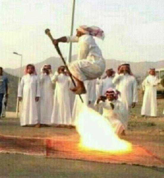 Meanwhile in Saudi Arabia