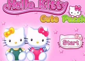 Hello Kitty Cute Puzzle