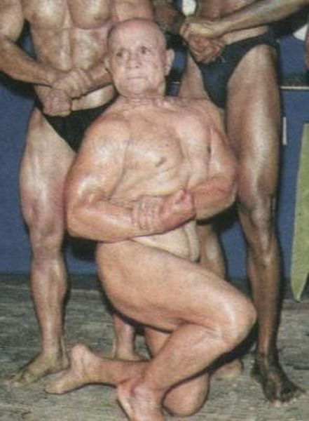 A 100 Year Old Bodybuilder