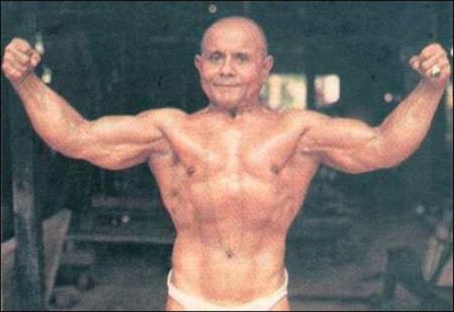 A 100 Year Old Bodybuilder