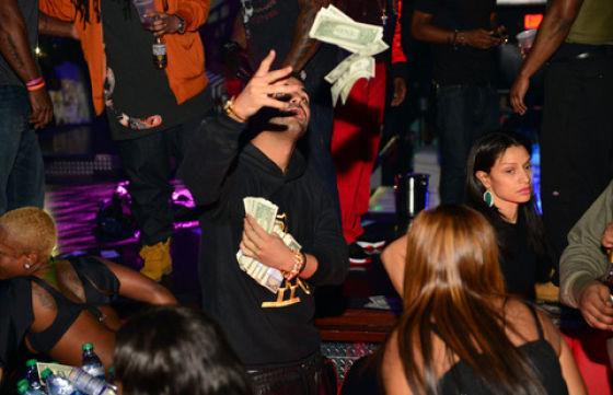 Girl strip for money 13