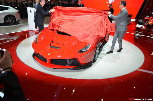 Ferrari Release Their Own New Supercar to Rival Lamborghini's Veneno
