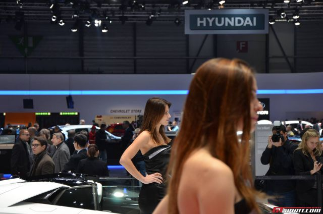 The Attractive Ladies of the Geneva Motor Show 2013