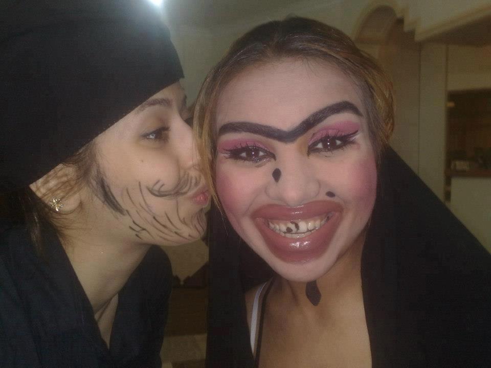 Страшные девушки часть 3 55 фото