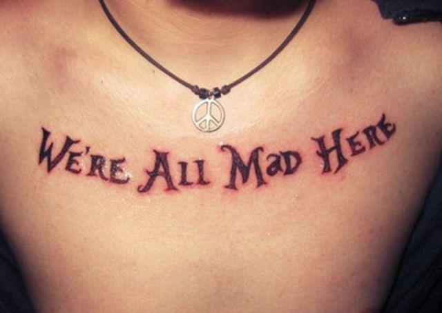 Unusual and Creative Disney Inspired Tattoo Designs