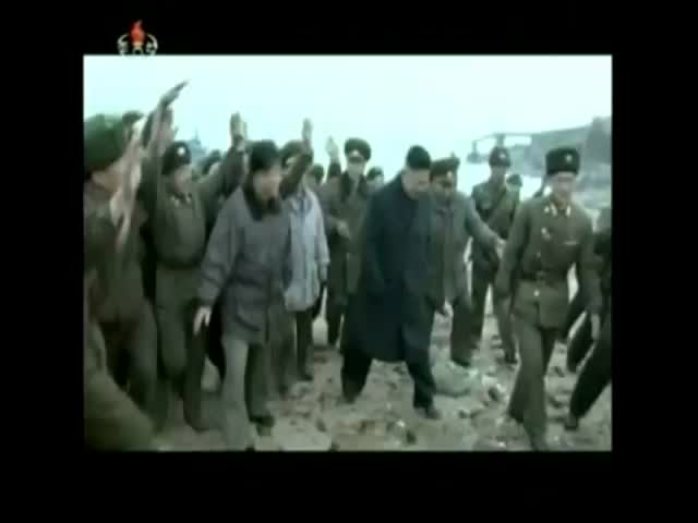 Meanwhile, in Crazy North Korea: Kim Jong-un and His Military Groupies