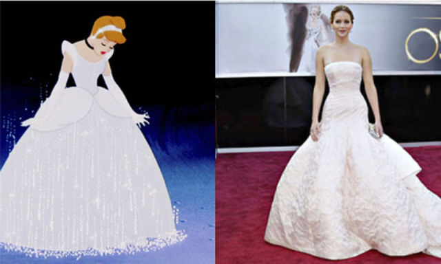 Jennifer Lawrence's Disney Dopplegangers