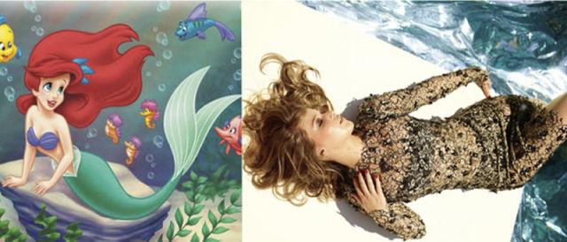 Jennifer Lawrence's Disney Dopplegangers