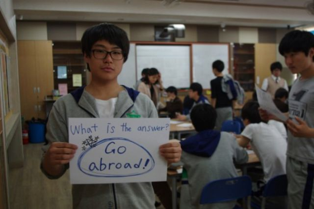 How Korean Students Practice Their English