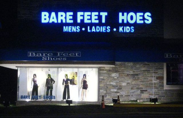 Neon Sign Fails Produce Hilarious and Unfortunate Messaging