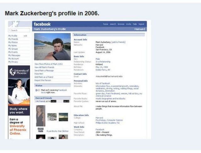 Significant Facebook Changes Since 2004
