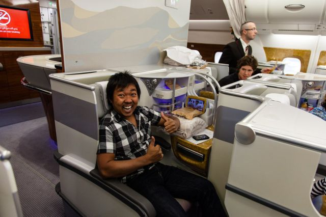 It's Pure Luxury In Business Class
