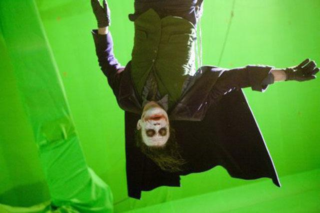 "Heath Ledger As Seen On the Set of ""The Dark Knight"""