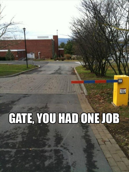 If You Only Have One Job to Do, Do It Right