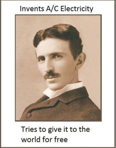 Nikola Tesla: An Inspirational Man from History