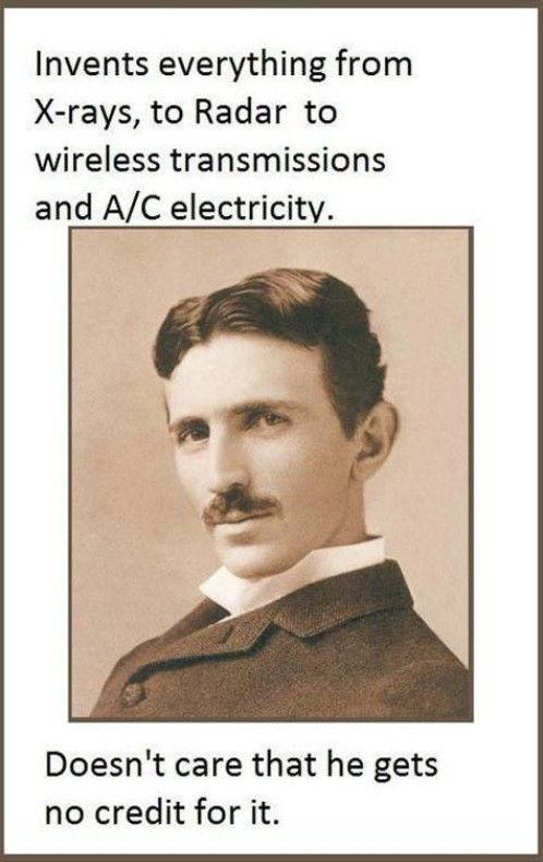 Nikola Tesla: An Inspirational Man from History