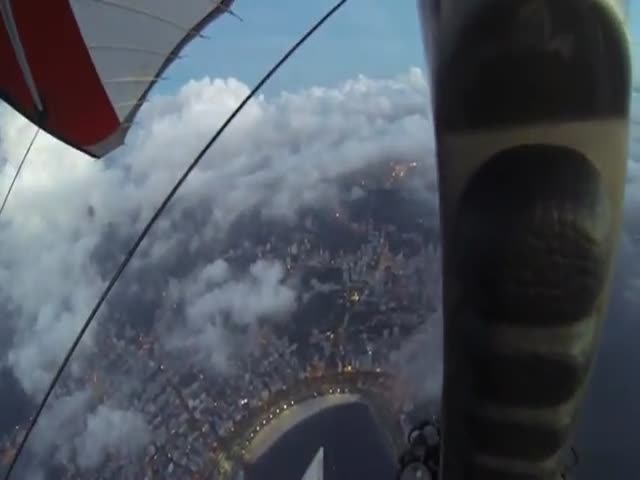 Urban Wingsuit Flying in Rio de Janeiro