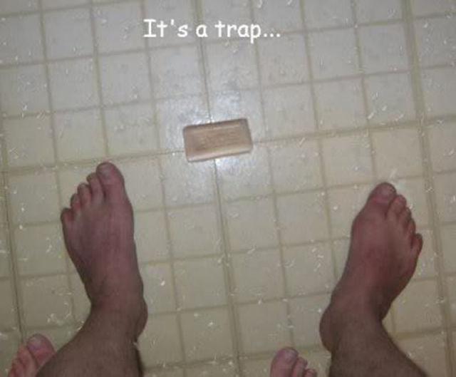 Be Careful It's A Trap