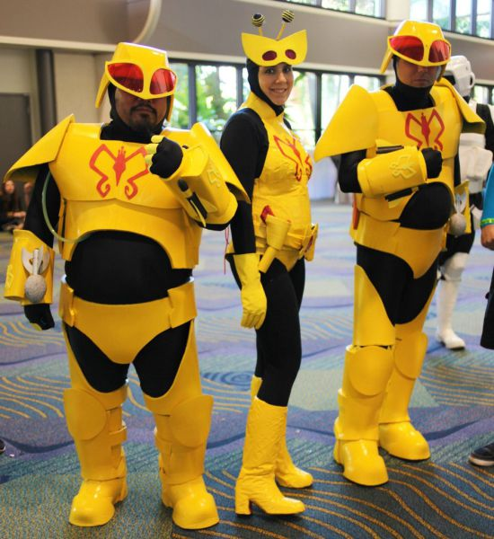 Elaborate Cosplay at the 2013 Megacon Convention