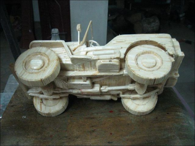 Magnificent Matchstick Vehicles