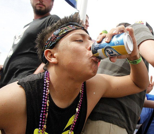 The Real-Life Drunken Debauchery at Spring Break
