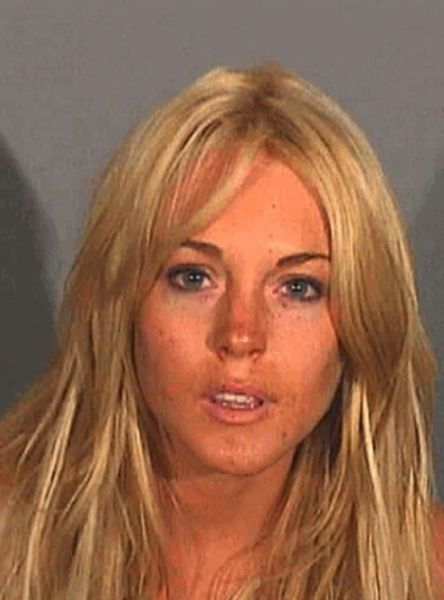 Lindsay Lohan Has Racked Up Many Mugshots Over the Years