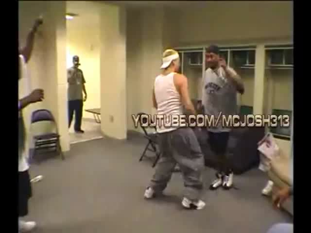 Eminem's Silly Break Dancing Moves