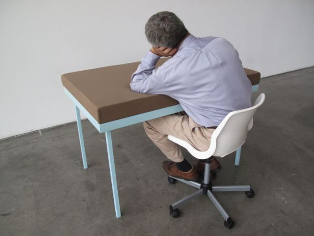 Now You Can Sleep at Work In Comfort