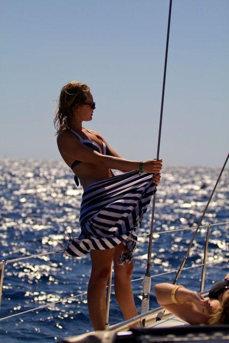 Sex on a yacht