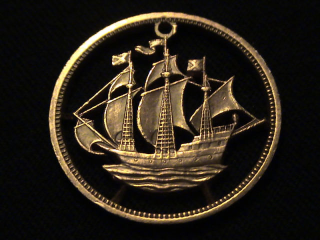 Ordinary Coins Become Intricate and Beautiful Pieces of Jewellery