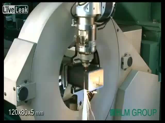Amazingly Mesmerizing Laser Cutting Technology