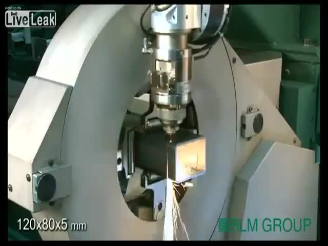 Amazingly Mesmerizing Laser Cutting Technology
