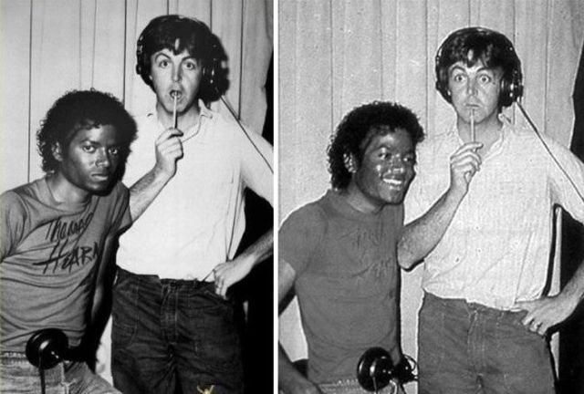Rare Photographs of Celebrities. Part 24
