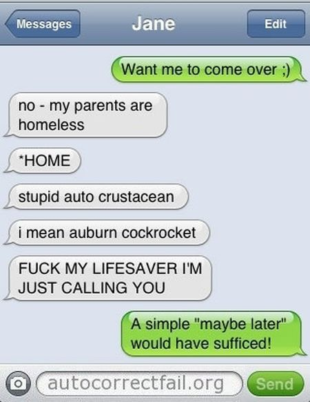 Autocorrect Just Failed. Part 2