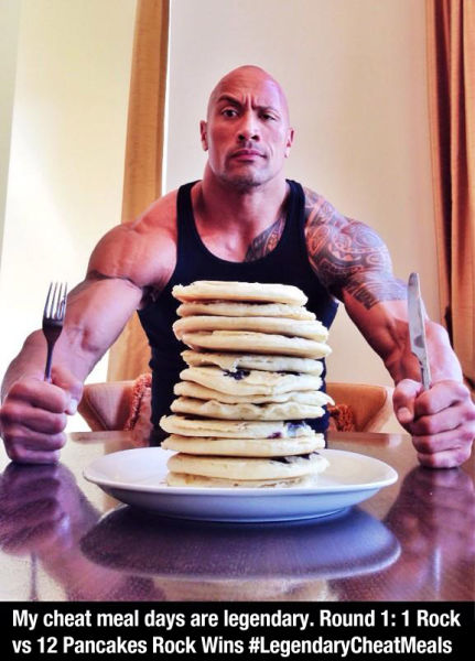 The Rock Has the Coolest Twitter Page Ever