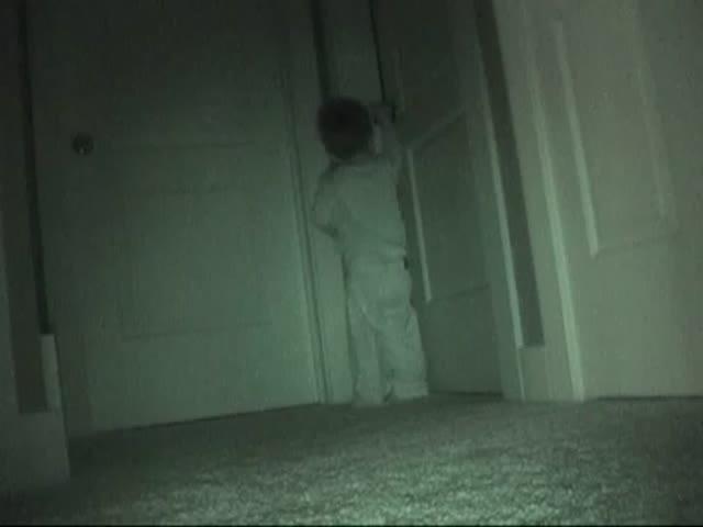 2-Year-Old Bedtime Criminal
