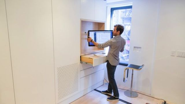 Cool Space-Saving Transformer Apartment