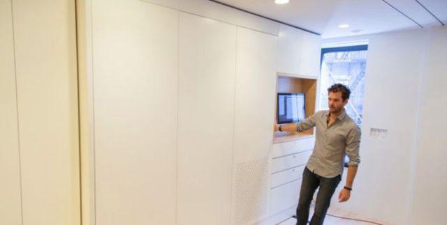 Cool Space-Saving Transformer Apartment