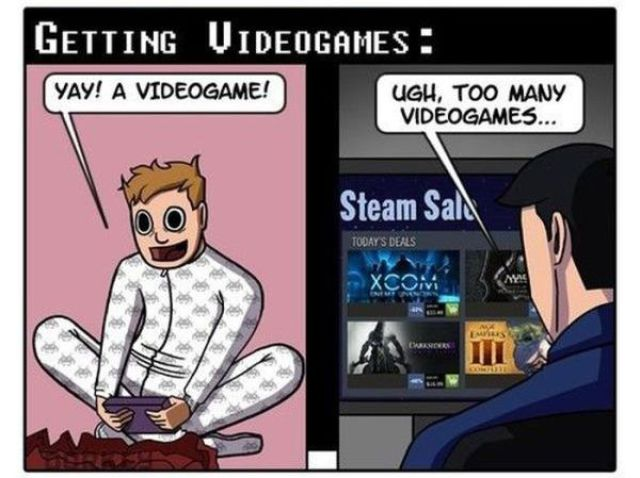Video Gaming Comparisons of Past vs. Present (6 pics