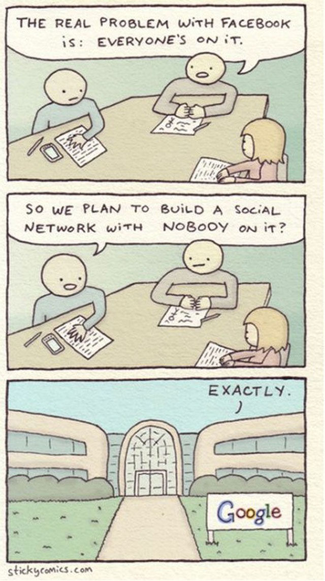 A Comic Strip on Sad But True Facts about the Internet