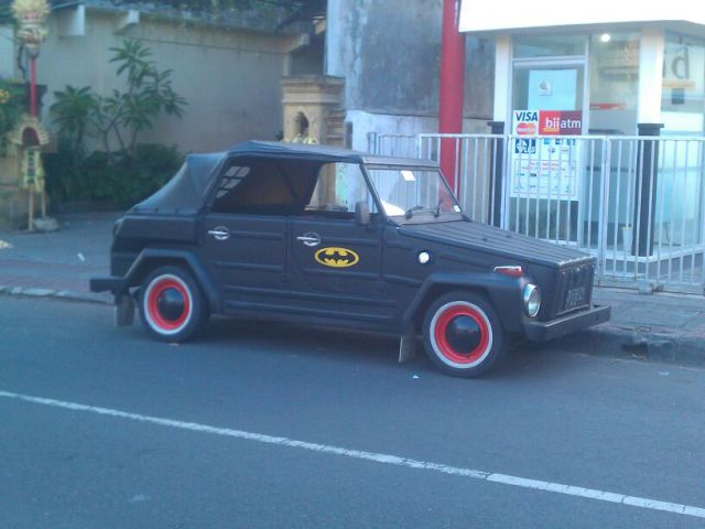 found batman