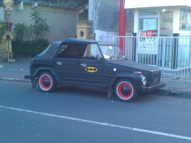 found batman