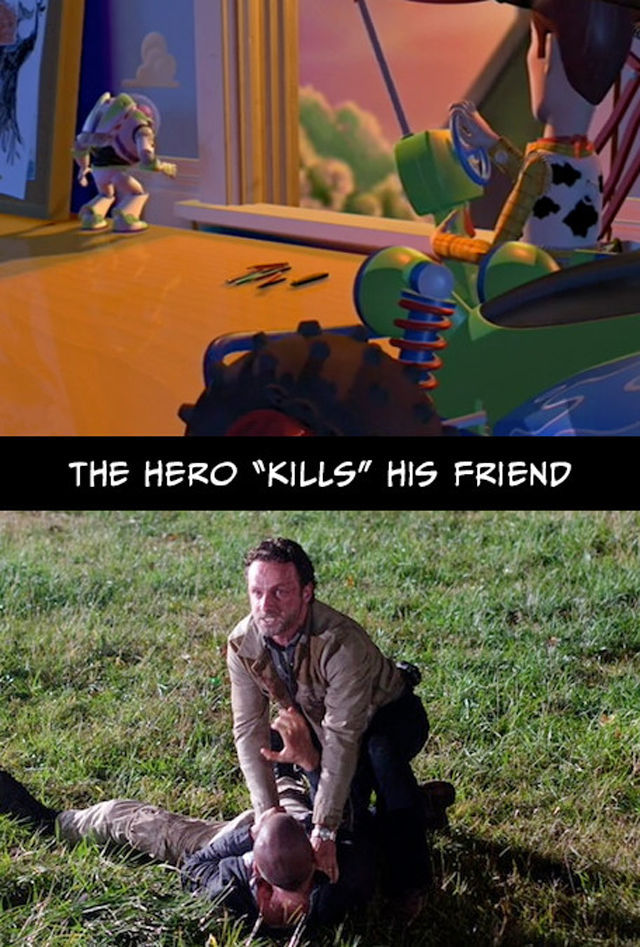 What Does The Walking Dead Have in Common with Toy Story?