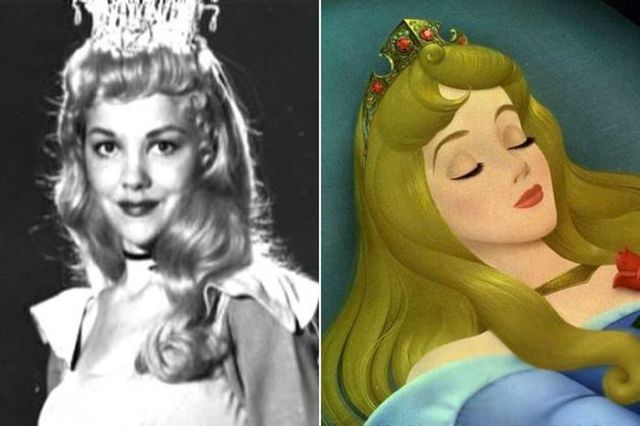 see who were the real life models for disney characters 9