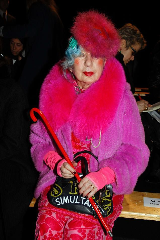 The Wacky Style of One of the World's Most Renowned Fashion Critics