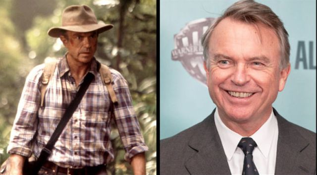 A Look at the Jurassic Park Actors Then and Now